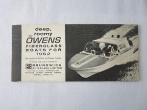 1962-Brunswick-Owens-Fiberglass-Boat-Sales-Brochure-Kenti-York-Dover-Brisbane
