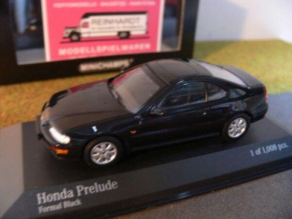 respuestas rápidas 1 43 Minichamps Honda Prelude 1992 1992 1992 negro 400 161921  tienda en linea