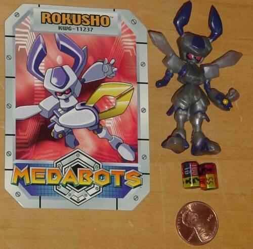 "MEDABOTS 2.5/"" MINIS YOUR CHOICE PHOENIX MEGA ROBOT EMP ROKUSHO WARBANDIT SAMURAI"