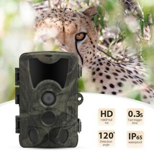 Outdoor-Hunting-Trail-Camera-16MP-1080P-IP65-Waterproof-Infrared-Night-Vision