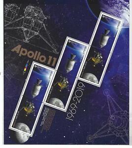 Kanada 2019 Apollo 11 Kleinbogen Nicht Gefaßt Postfrisch, MNH