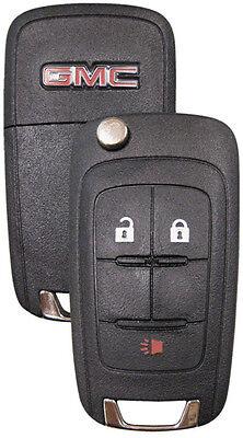 2 NEW GMC GM OEM  Switchblade Flip Keys 5 Button Remote 13504259 5912548 LOGO