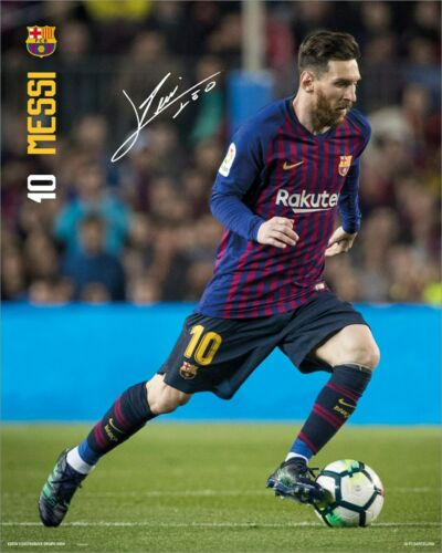 Barcelona Messi Poster 18-19 40x50cm