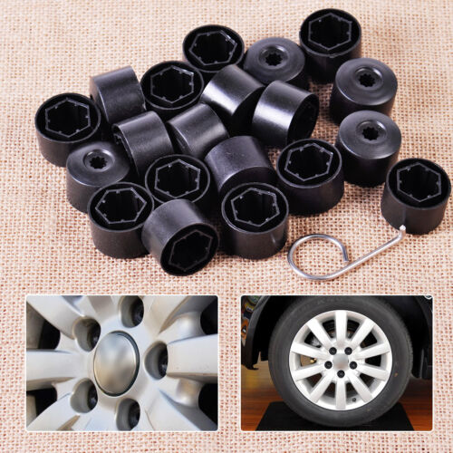 1 of 1 - 1K0601173 Anti-theft Wheel Lug Bolt Center Nut Covers Caps Fit for VW Jetta Golf