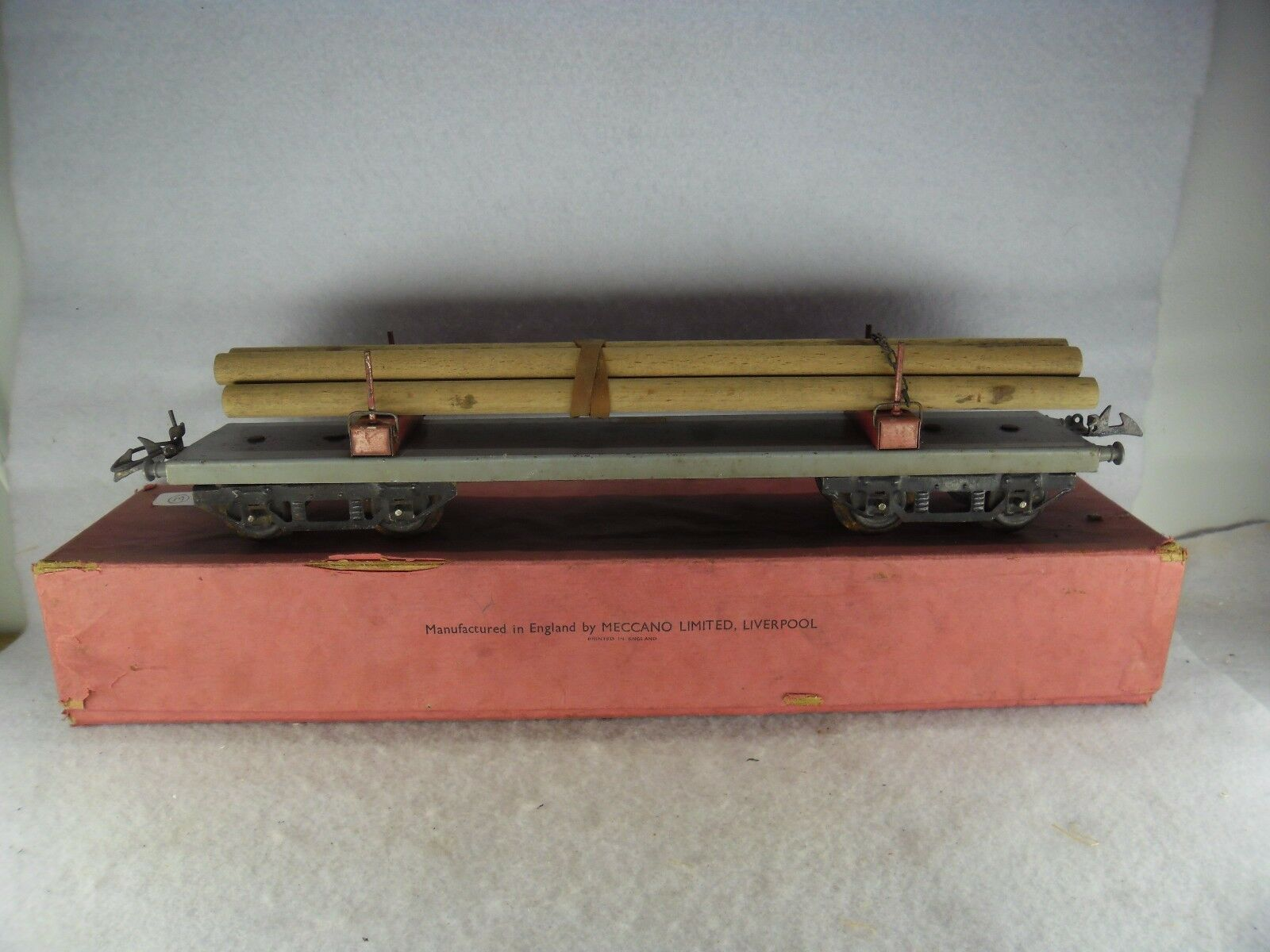 Hornby 'O' Gauge Boxed No.2 Grey Lumber Wagon RS 669
