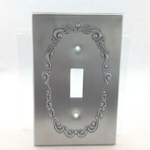BrassSmith House SP-1A Pewter Federal Eagle 1 Switch Cover