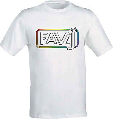 Abbigliamento E Accessori Bambino: Abbigliamento T-shirt Maglietta Favi J Favij Tv Nuovo Logo Lorenzo Youtuber Fan