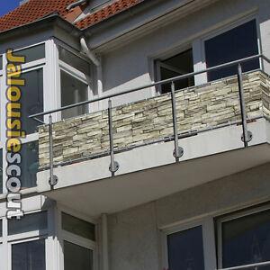 das bild wird geladen balkonbespannung mit motiven sichtschutz balkonverkleidung wasserabweisend