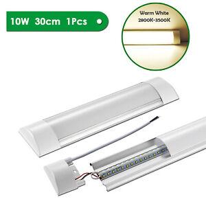 30CM-10W-LED-de-luces-de-techo-Slim-Lampara-Fluorescente-Barra-Liston-tubos-Blanco-Calido