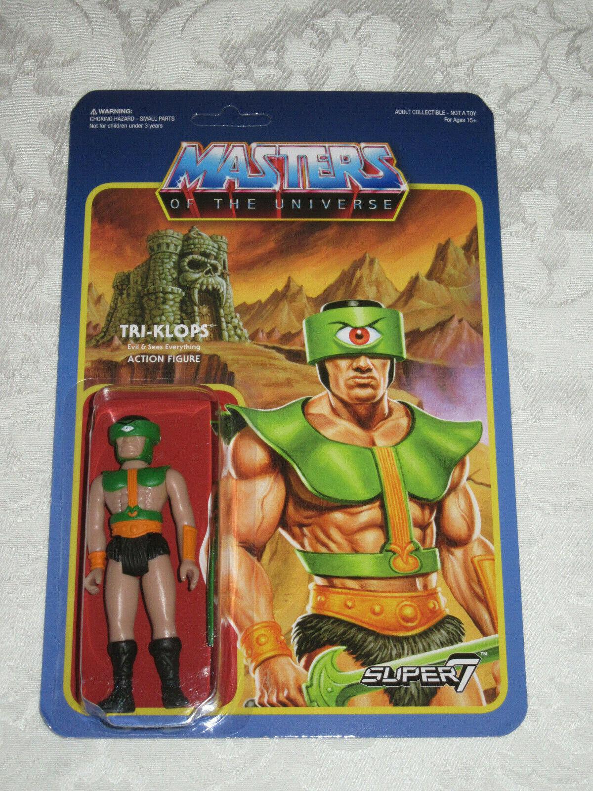 Super7 Reazione Masters of the Universe MOTU Triklops azione cifra 3 34