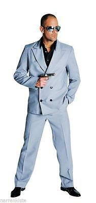 Anzug Kostüm Gangster Polizei Miami Vice FBI SWAT Mafia Personenschutz Bodyguard