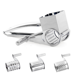 Rotary Cheese Grater Stainless Steel Cheese Grater Shredder Cutter Grinder