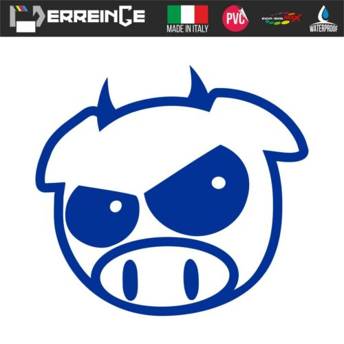 Sticker DEVIL PIG JDM DUB Adhesive Wall Decal Laptop Camper Animal Car Scooter
