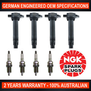 4x-Genuine-NGK-Spark-Plugs-amp-4x-Ignition-Coils-for-Dodge-Caliber-PM-Jeep-Compass