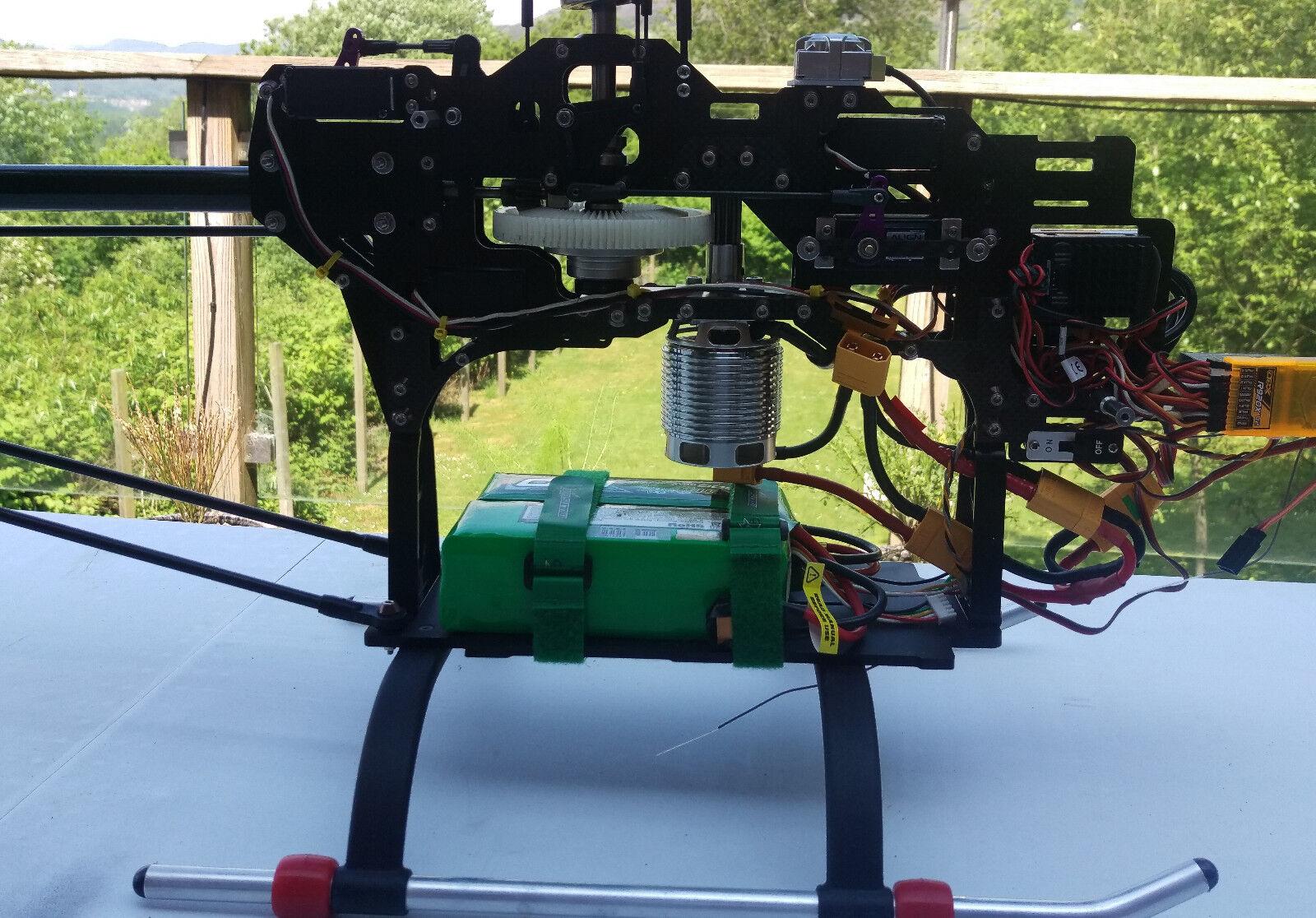 Conversión eléctrico de células FURY X helicóptero Talla 90 RC helicóptero X 68c8ea