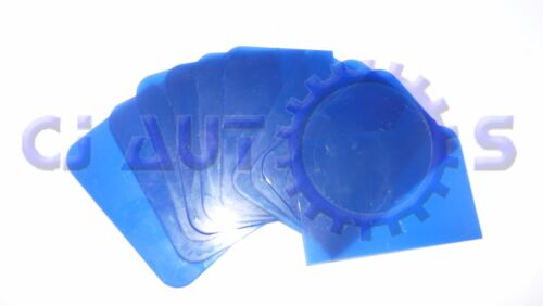 10 PACK HIGH QUALITY BLUE CAR BODY 2K FILLER 1K PUTTY GLAZE SPREADER PAINT TINT