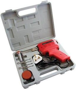 150W-ELECTRIC-ELECTRICAL-SOLDER-SOLDERING-IRON-GUN-KIT-240V-2-SPARE-TIPS