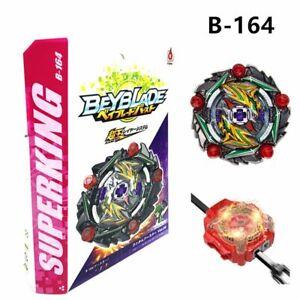 Flame-B164-Curse-Satan-Hr-Un-1D-with-LR-Launcher-Beyblade-Burst-Set-Kids-Toy