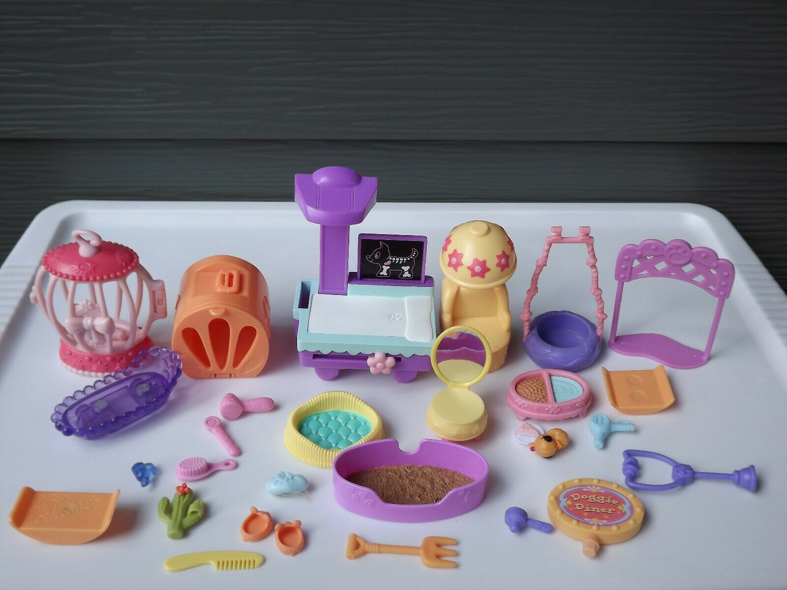 Hasbro Littlest Pet Shop LPS Accessories and More Lot