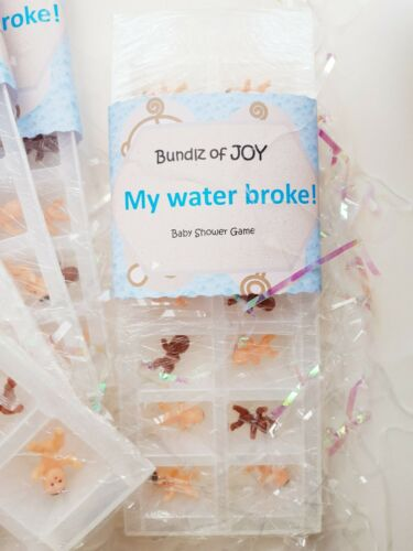 Baby shower game My water broke frozen baby game with clear instructions for 28