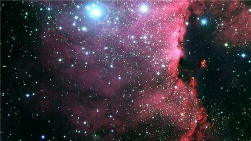 """Galaxy Universe Space Stars Wall Poster 21/""""X13/'/'  S13"""