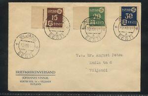 1941-Viljandi-Estonie-Cover-occupation-timbres-N3-N5