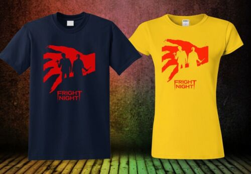 NEW FRIGHT NIGHT T-SHIRT HORROR COLOUR NEW MOVIE SHORT SLEEVE COOL SHIRT 3 GP1