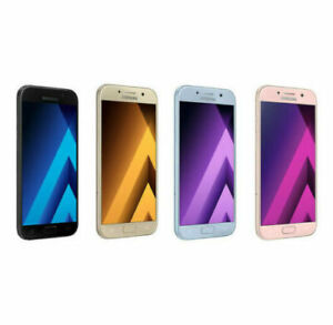 SAMSUNG-GALAXY-A5-2017-A520-32GB-Telefono-inteligente-Desbloqueado-Telefono-Movil-pristina