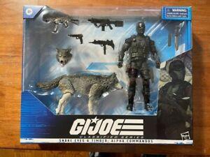 GI Joe Classified Snake Eyes & Timber Alpha Commandos deluxe set #30 new