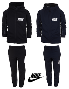 e582ae6c2c00e Nike Boys Kids Tracksuit Jogging Bottoms Hoodie Jacket Top Training ...