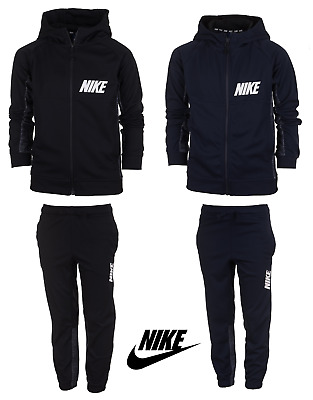 various colors 2a10c 8784e Nike Boys Kids Tracksuit Jogging Bottoms Hoodie Jacket Top Training Pants  5-14   eBay