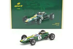 Jim-Clark-039-s-5-1965-Lotus-33-British-GP-Win-amp-F1-Champ-1-18-by-Spark-SP18S416