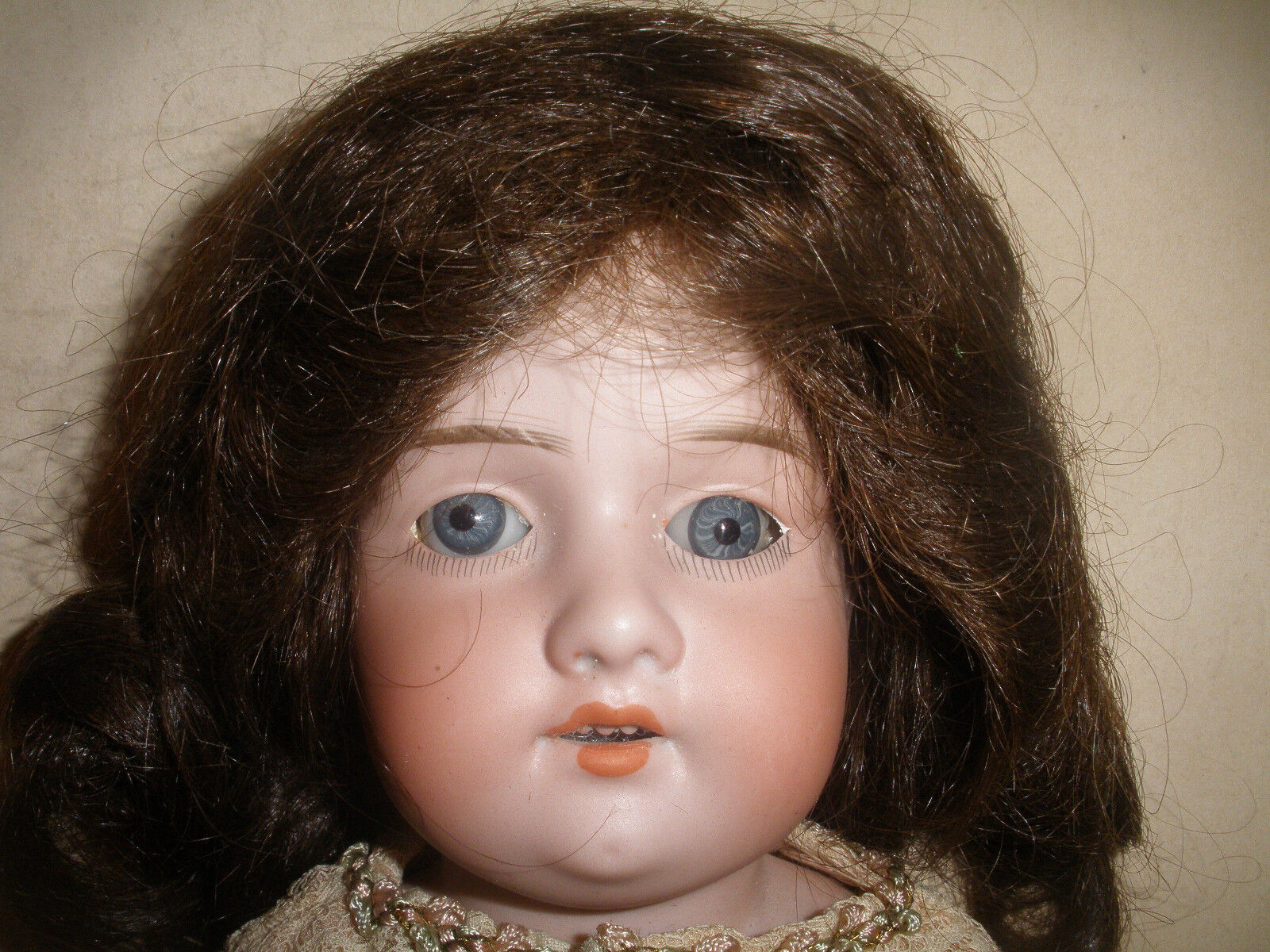 ANTIQUE 15  ARMAND MARSEILLE 370 3/0 GERMANY BISQUE  DOLL