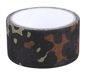 BUNDESWEHR-Duct-Tape-Panzertape-Gewebeband-Camouflage-Tarn-Klebeband-Geocaching