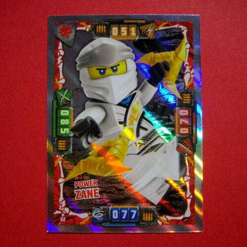LEGO NINJAGO Serie 4 Trading Cards Karten Ultra Holo Kristal Drachen LE1-LE25