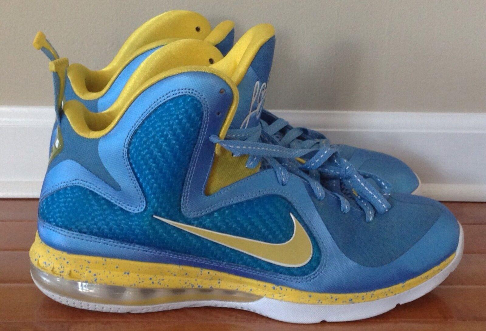 Nike Lebron 9 Swin Cash Sample PE Sz 12