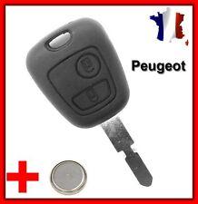 Coque Télécommande Plip Clé Peugeot 406/406 BREAK/406 COUPE/607/806 + Pile