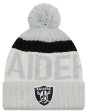 a87b64f225a item 1 Men s New Era Oakland Raiders 2017 NFL Sideline Sport Beanie Knit Hat  Cap Pom -Men s New Era Oakland Raiders 2017 NFL Sideline Sport Beanie Knit  Hat ...