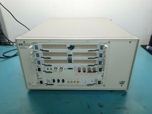 HP AGILENT  E1421B 6 slot VXI Mainframe with 30 day warranty!!