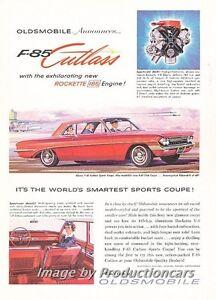 1961-Oldsmobile-F-85-Cutlass-Original-Advertisement-Print-Art-Car-Ad-J682