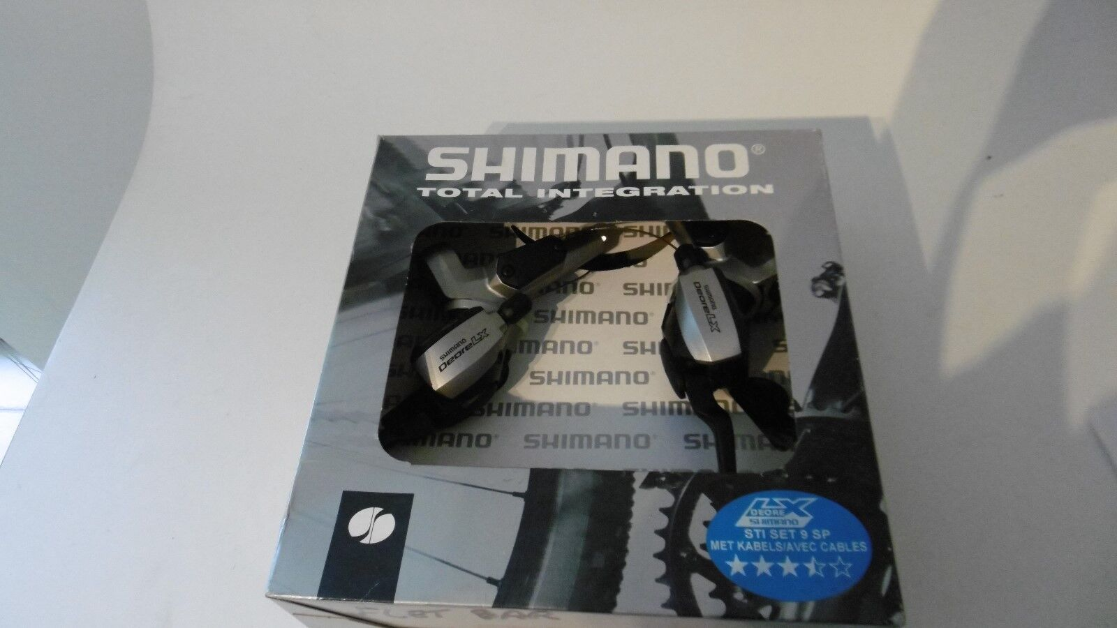 Shimano Deore LX ST-M585 9 Sp Shifter STI Set Disc New