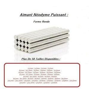 Aimants-Neodyme-Puissant-rond-Photo-Magnet-Fimo-Miniature-Fixation-Autres