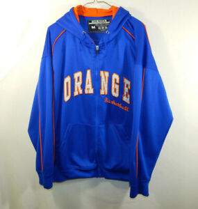 Details About Syracuse University Orange Ncaa College Basketball Full Zip Hoodie Size Medium M