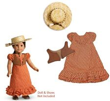American Girl Josefina Doll/'s Summer Outfit Set ~Riding Dress Vest Hat BRAND NEW