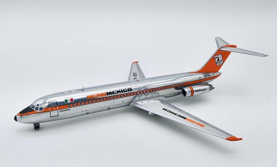 IF930AM1018P 1 200 Aeromexico McDONNELL DOUGLAS DC-9-32 XA-Dek poli avec support