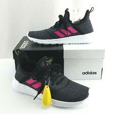 Girls adidas Kids' Cloudfoam Pure Black Pink Gray SNEAKERS Size 4 ...