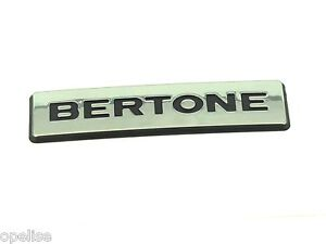 Genuine-New-VAUXHALL-BERTONE-BADGE-For-Astra-G-Coupe-amp-Convertible-1998-05-Opel