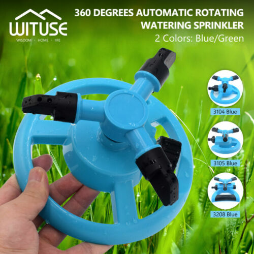 S//M//L Automatic Lawn Sprinkler Garden House Water Sprinklers Lawn Irrigation F8