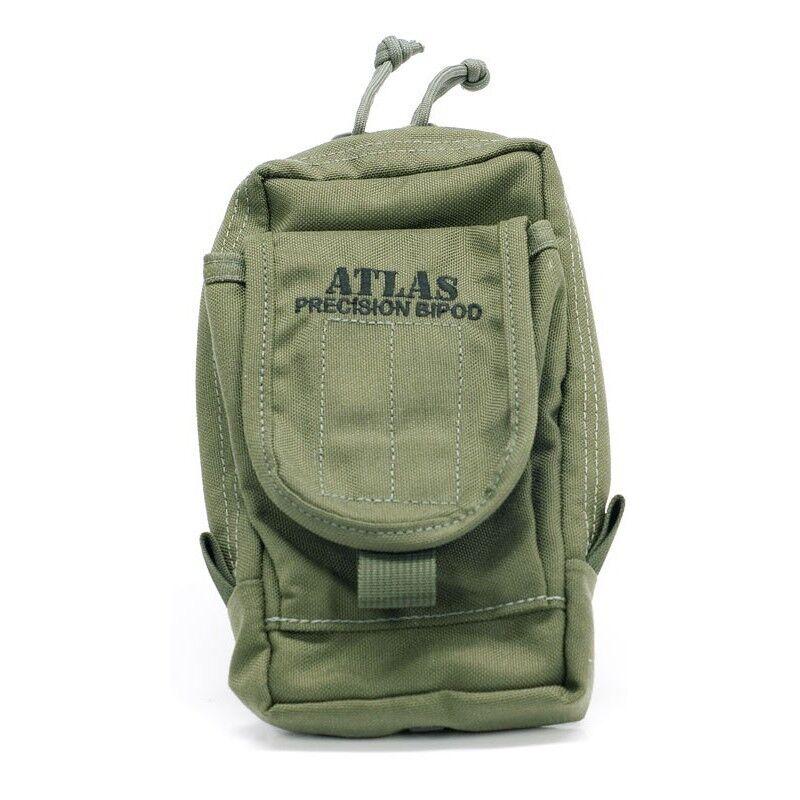 Atlas bípode BT30 bípode Bolsa Ranger verde Para V8, PSR & Cal Bipods