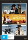 Hollywood Gold - Western - Bandolero /The Unforgiven / Man Of The West (DVD, 2014, 3-Disc Set)
